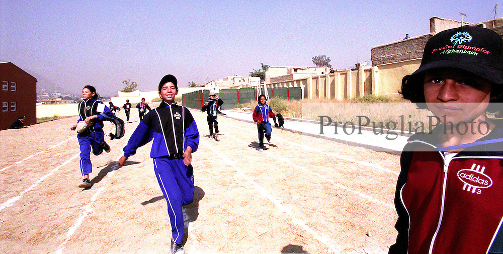 SPECIAL OLYMPICS AFGHANISTAN..KABUL 24 August 2005