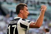 19.08.2017 - Torino - Serie A 2017/18 - 1a giornata  -  Juventus-Cagliari nella  foto: Mario Mandzukic esulta dopo il gol del '1 a 0