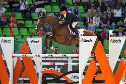 Jean Teulere, (FRA), Matelot du Grand Val - Jumping Eventing - Alltech FEI World Equestrian Games™ 2014 - Normandy, France.<br /> © Hippo Foto Team - Leanjo De Koster<br /> 31-08-14