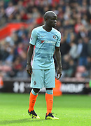 Ngolo Kante (7) of Chelsea during the Premier League match between Southampton and Chelsea at the St Mary's Stadium, Southampton, England on 7 October 2018.
