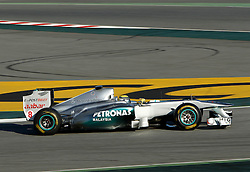 Motorsports / Formula 1: World Championship 2011, Testing in Barcelona, test, 08 Nico Rosberg (GER, Mercedes GP Petronas),