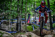 NEWKIRK Anna (USA) at the Mountain Bike World Championships in Mont-Sainte-Anne, Canada.