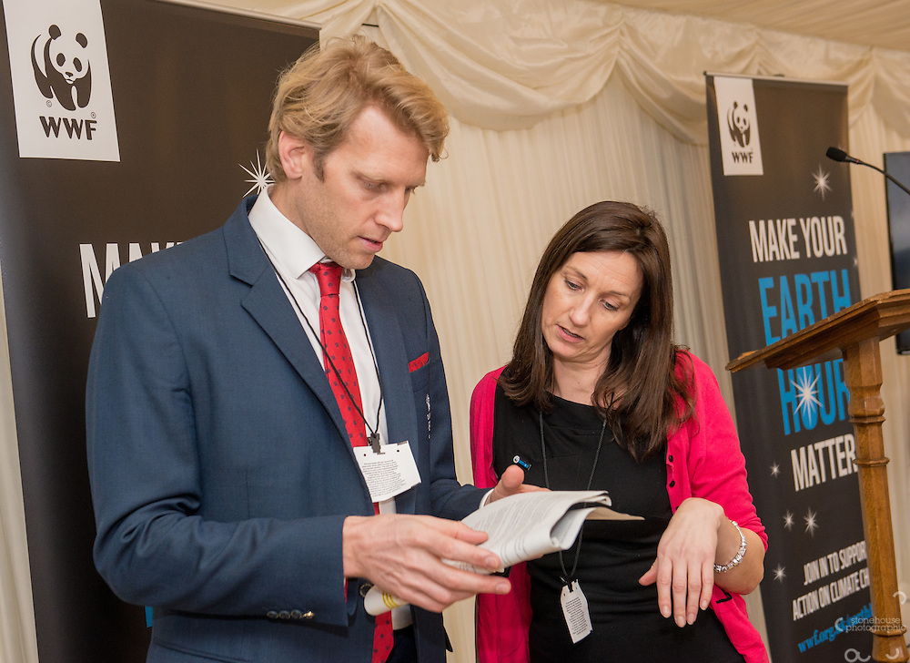 Andrew Triggs Hodge OBE at the WWF UK Earth Hour 10th Anniversary Parliamentary Reception, Terrace Pavilion, Palace of Westminster. 28th Feb. 2017