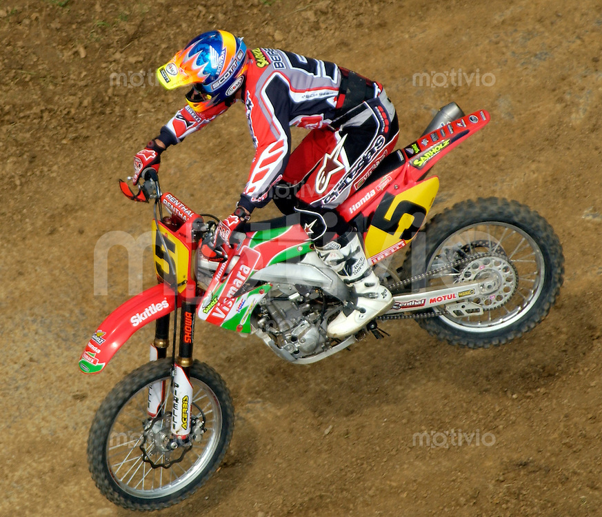 Motocross Int. Deutsche Meisterschaft Motocross Solo Aichwald (Germany) Pit Beirer (GER) Honda Sarholz Racing Team