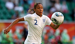 27.06.2011, Arena im Allerpark Wolfsburg, Wolfsburg,  GER, FIFA Women Worldcup 2011, Gruppe B, Mexico (MEX) vs. England (ENG). im Bild Alex Scott  (ENG) during the FIFA Women Worldcup 2011, Pool B, Mexico vs England on 2011/06/26, Arena im Allerpark , Wolfsburg, Germany.  .EXPA Pictures © 2011, PhotoCredit: EXPA/ nph/  Hessland       ****** out of GER / SWE / CRO  / BEL ******