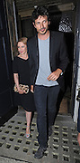 18.SEPTEMBER.2012. LONDON<br /> <br /> KYLIE MINOGUE AND BOYFRIEND ANDRES VELENCOSO ENJOY A MEAL AT THE LITTLE HOUSE RESTAURANT IN MAYFAIR, LONDON.<br /> <br /> BYLINE: EDBIMAGEARCHIVE.CO.UK<br /> <br /> *THIS IMAGE IS STRICTLY FOR UK NEWSPAPERS AND MAGAZINES ONLY*<br /> *FOR WORLD WIDE SALES AND WEB USE PLEASE CONTACT EDBIMAGEARCHIVE - 0208 954 5968*
