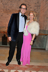 MAX & JULES KONIG at the Women for Women International UK Gala held at the Guildhall, City of London on 3rd May 2012.