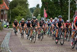 Peloton with Team Liv-Plantur during the Holland Ladies Tour at the mountain sprint, Zeddam, Gelderland, The Netherlands, 1 September 2015.<br /> Photo: Pim Nijland / PelotonPhotos.com