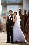 Apr 30, 2011; San Antonio, TX, USA;  Bride hugs her husband before their wedding.