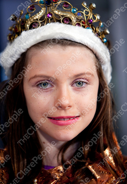 08.12.2011<br /> Attending the rehearsals for the Snow Queen school play at Holy Family School Ennis was Verena Gerlach.<br /> Pic. Alan Place / Press 22