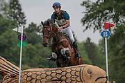 MOLOKAI ridden by Astier Nicolas at Bramham International Horse Trials 2016 at  at Bramham Park, Bramham, United Kingdom on 11 June 2016. Photo by Mark P Doherty.