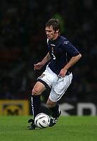 Photo: Andrew Unwin.<br /> Scotland v USA. International Challenge. 12/11/2005.<br /> Scotland's Graham Alexander.