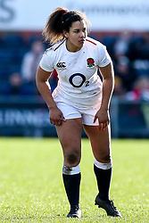 Tatyana Heard of England Women - Mandatory by-line: Robbie Stephenson/JMP - 10/02/2019 - RUGBY - Castle Park - Doncaster, England - England Women v France Women - Women's Six Nations