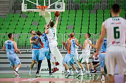 Drazen Bubnic of Petrol Olimpija during basketball match between KK Petrol Olimpija and KK Sixt Primorska in Round #5 of Liga Nova KBM 2017/18, on November 2, 2017 in Arena Stozice, Ljubljana, Slovenia. Photo by Vid Ponikvar / Sportida