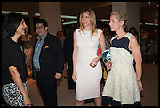 LEILA MALEKI; MEREDITH OSTROM; ELISABETH ESTEVE, Masterpiece London 2014 Preview. The Royal Hospital, Chelsea. London. 25 June 2014.