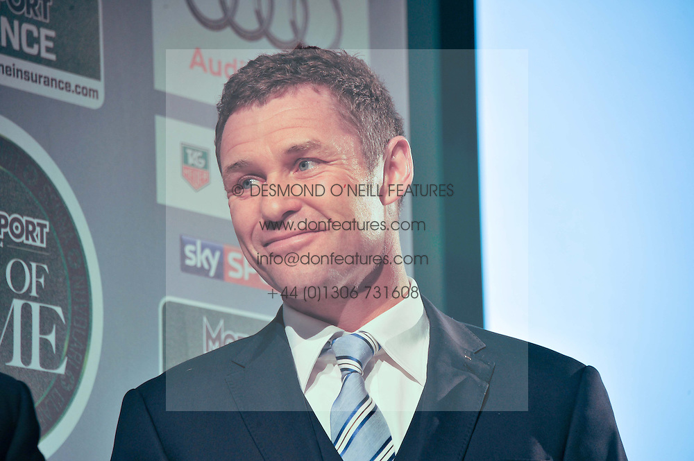 Racing driver Tom Kristensen at the Motor Sport magazine's 2013 Hall of Fame awards at The Royal Opera House, London on 25th February 2013.