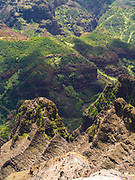 View over Waimea Canyon, Kauai, Hawai'i, USA.