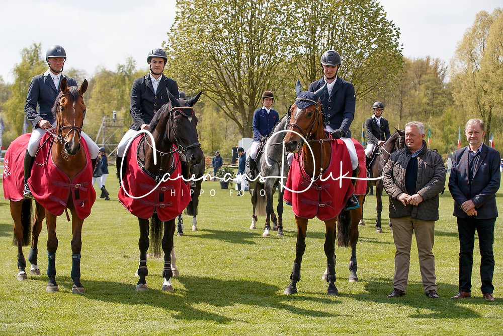 Thiry Kim, BEL, Noortje vd Windheuvel, Bossaerts Nick, Mr. Jones, Panneels Bert, Lavendel van het Beetjen<br /> BWP Young Future Stars<br /> CSIO Lummen 2017<br /> © Hippo Foto - Dirk Caremans<br /> 29/04/2017