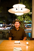 Pladib restaurant. Owner Prew Pirom.