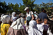 INDONESIA, Sumbawa achipelago; Wera village. school