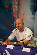 12.01.2012, Abu Dhabi. Volvo Ocean Race, skippers press conference, Ian Walker skipper of Abu Dhabi Ocean Racing, winner of in port abu dhabi race
