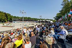 Übersicht Stadion Dressur<br /> Rotterdam - Europameisterschaft Dressur, Springen und Para-Dressur 2019<br /> Longines FEI Dressage European Championship Grand Prix Freestyle<br /> Grand Prix Kür<br /> 24. August 2019<br /> © www.sportfotos-lafrentz.de/Stefan Lafrentz