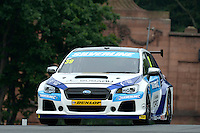 #39 Warren Scott GBR Subaru Team BMR Subaru Levorg GT  during first practice for the BTCC Oulton Park 4th-5th June 2016 at Oulton Park, Little Budworth, Cheshire, United Kingdom. June 04 2016. World Copyright Peter Taylor/PSP.