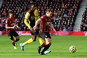 Ryan Fraser (24) of AFC Bournemouth on the attack during the Premier League match between Bournemouth and Watford at the Vitality Stadium, Bournemouth, England on 12 January 2020.