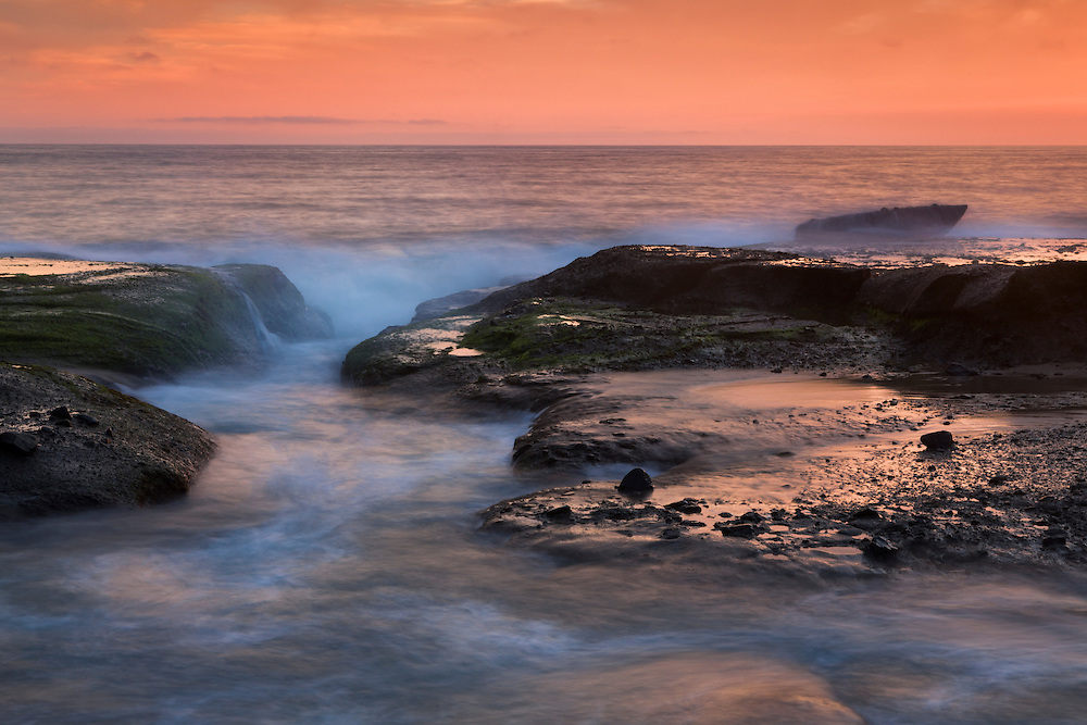Wave Channel - Aliso Creek Beach - Sunset