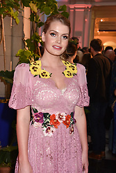 "Lady Kitty Spencer at the opening of ""Frida Kahlo: Making Her Self Up"" Exhibition at the V&A Museum, London England. 13 June 2018."