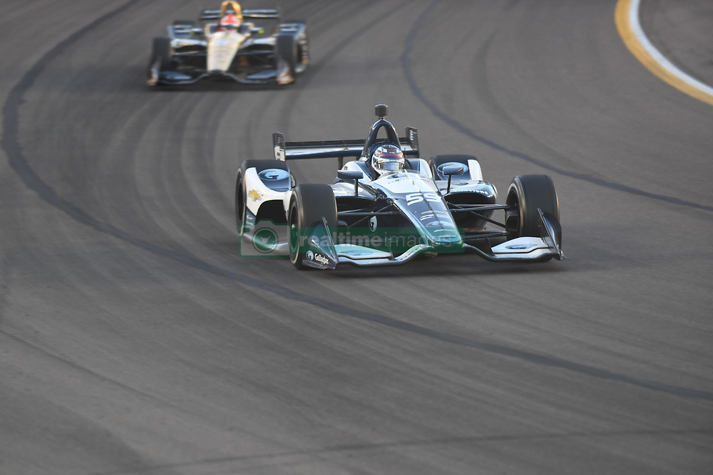 April 6, 2018 - Phoenix, AZ, U.S. - PHOENIX, AZ - APRIL 07: Driver Max Chilton in the Verizon IndyCar Series Desert Diamond West Valley Casino Phoenix Grand Prix on April 7, 2018, at ISM Raceway in Phoenix, AZ. (Photo by Grant Exline/Icon Sportswire) (Credit Image: © Grant Exline/Icon SMI via ZUMA Press)