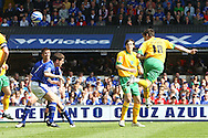 Ipswich - Sunday Aprll 19th 2009: David Mooney of Norwich City scores and celebrates the opening goal during the Coca Cola League Championship match at Portman Road, Ipswich. (Pic by Paul Chesterton/Focus Images)
