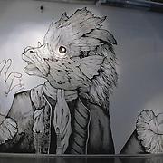 Exposición colectiva en el Centro Cultural de España. Montevideo, 2014.