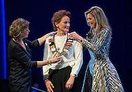 Amsterdam, 30-11-2015<br /> <br /> Queen Maxima handed out the Prince Bernhard Award <br /> <br /> Copyright Bernard Ruebsamen/Royalportraits Europe