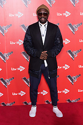 © Licensed to London News Pictures. 03/01/2018. London, UK. WILL.I.AM attends the Launch of The Voice UK 2018 press launch on ITV. Photo credit: Ray Tang/LNP