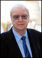 Michael Caine arrives at Westminster Abbey for the service to celebrate the life and work of Sir David Frost, Westminster Abbey, London, United Kingdom. Thursday, 13th March 2014. Picture by Andrew Parsons / i-Images