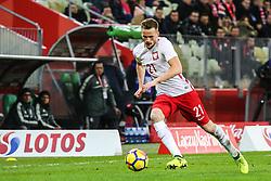 November 13, 2017 - Gdansk, Poland - Tomasz Kedziora (POL) during the International Friendly match between Poland and Mexico at Energa Stadium in Gdansk, Poland on November 13, 2017. (Credit Image: © Foto Olimpik/NurPhoto via ZUMA Press)