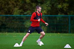 CARDIFF, WALES - Saturday, October 13, 2018: Wales' Gareth Bale during a training session at the Vale Resort ahead of the UEFA Nations League Group Stage League B Group 4 match between Republic of Ireland and Wales. (Pic by David Rawcliffe/Propaganda)