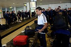 20131001 FC København ankommer i Madrid Lufthavn