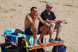 23-08-2019 NED; DELA NK Beach Volleyball Qualification, Scheveningen<br /> First day NK Beachvolleyball / Arno van Solkema