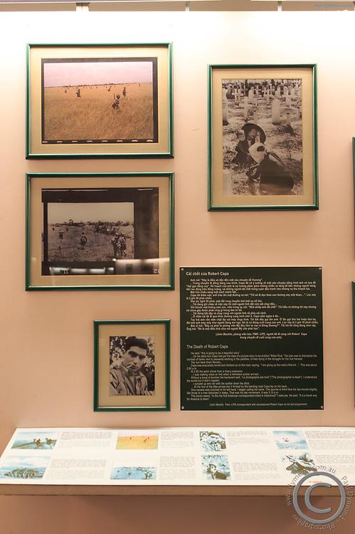 The Requiem photo exhibition at the War Remnants Museum, Ho Chi Minh City, Vietnam