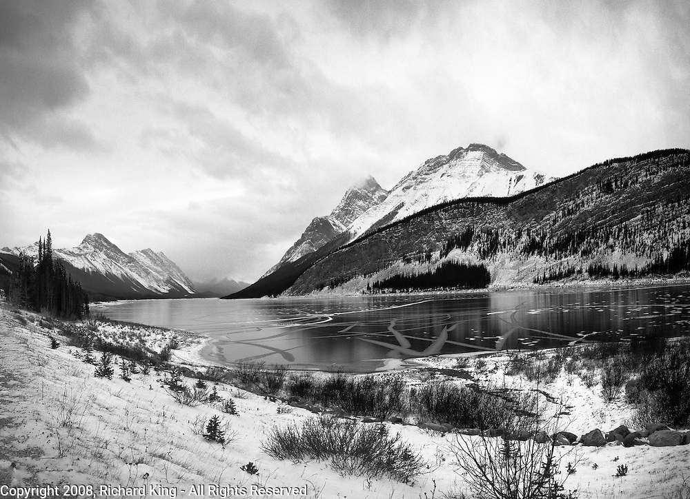 Frozen Spray Lake Reservoir, Goat Range