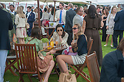 LOLA; TORY COOK, Cartier Queen's Cup. Guards Polo Club, Windsor Great Park. 17 June 2012