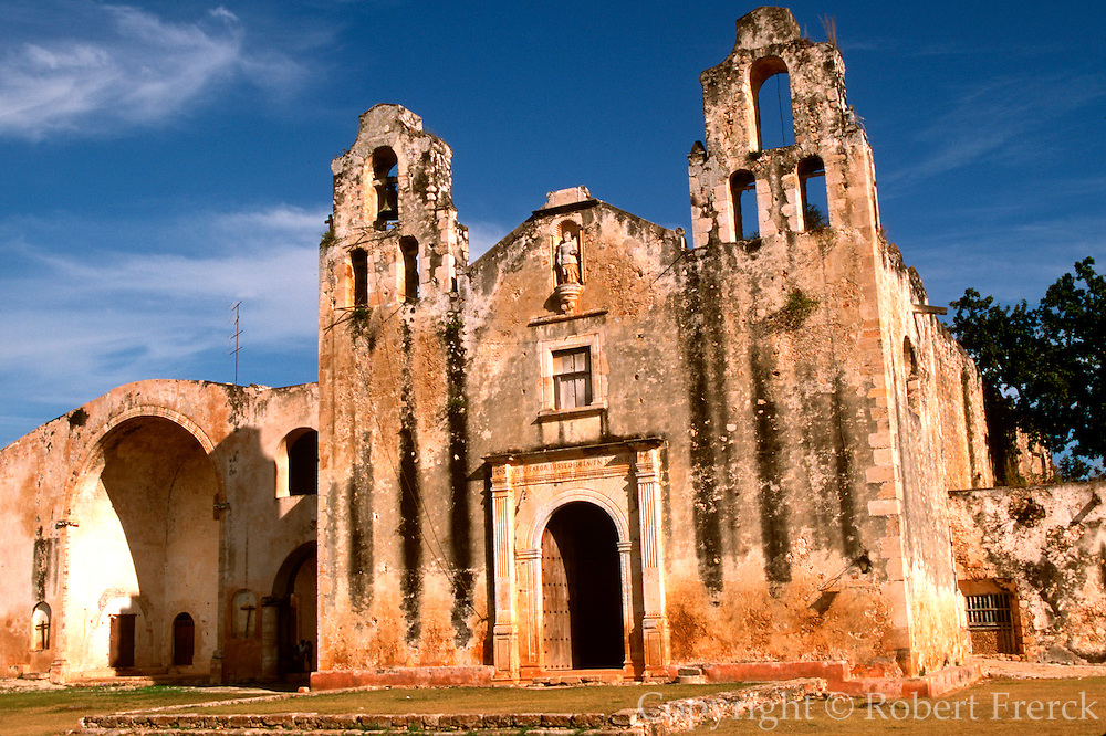 MEXICO, YUCATAN, MANI where Landa burned Mayan codices