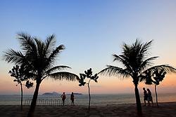 Pôr do sol na praia de Ipanema - Rio de Janeiro - Brasil. FOTO: Jefferson Bernardes/Preview.com