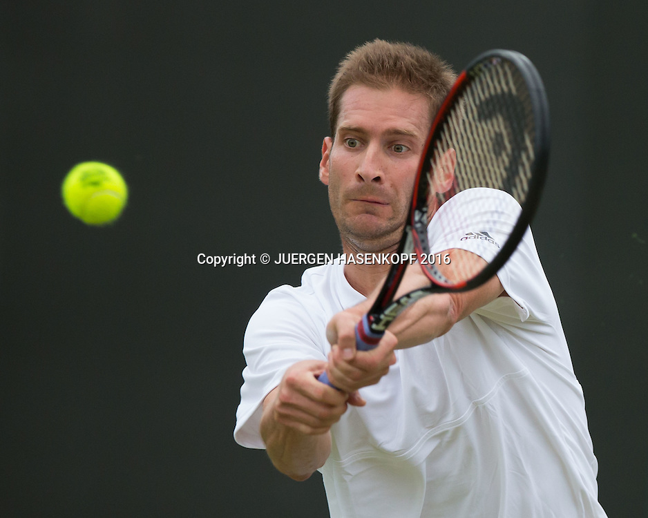 Florian Mayer (GER)<br /> <br /> Tennis - Wimbledon 2016 - Grand Slam ITF / ATP / WTA -  AELTC - London -  - Great Britain  - 29 June 2016.