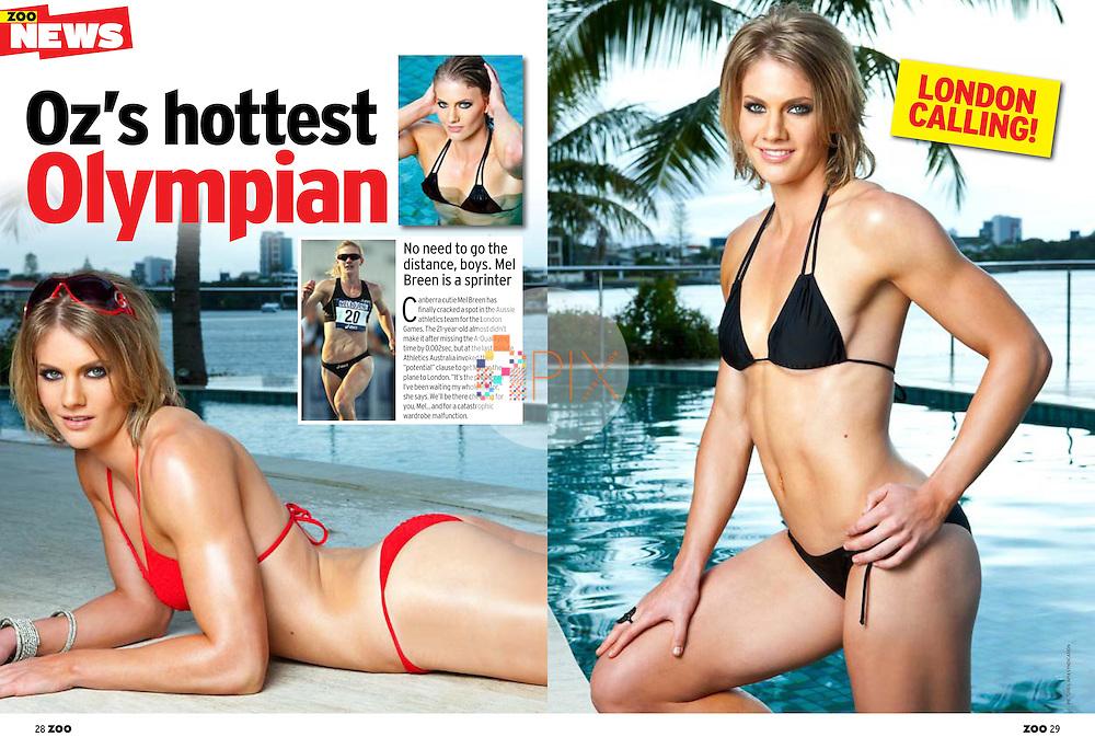 Melissa Breen in ZOO WEEKLY Australia :: July 2012