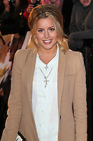 LONDON - APRIL 23: Caggie Dunlop attends the European Film Premiere of 'The Lucky One' at The Bluebird Restaurant & Bar, King's Road, Chelsea, London, UK. April 23, 2012. (Photo by Richard Goldschmidt)