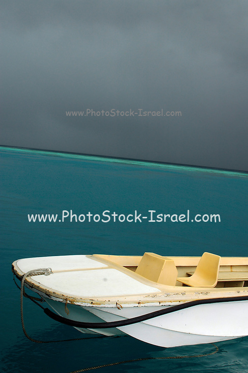 The Maldives Approaching Monsoon storm