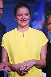 Former Belgian tennis player Kim Clijsters is inducted in the Tennis Hall Of Fame at the 2017 US Open at Billie Jean National Tennis Center in New York City, NY, USA, on September 7, 2017. Photo by Corinne Dubreuil/ABACAPRESS.COM